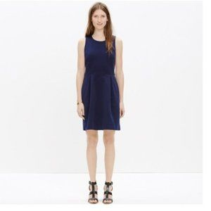 NWT Madewell Verse Dress in Navy